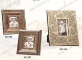 Gesso antique Wooden Photo Frame avec Classical Style