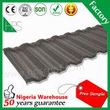 Mattonelle di tetto rivestite del metallo della pietra variopinta impermeabile
