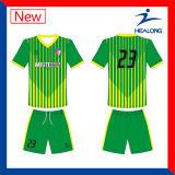 Healongのスポーツ・ウェアの方法デジタル印刷のサッカーのユニフォーム