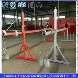 Longitud estándar suspendida los 7.5m de la plataforma Zlp1000