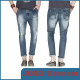 Mann-Form-Denim zerrissene Jeans (JC3064)
