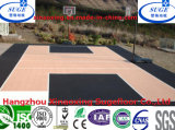 실내 Interlcoking 375g Weight Basketball Court Flooring