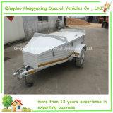 Двойной караван амортизатора удара складывая с трейлера перемещения трейлера туриста дороги напольного