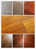 Plancher en bois conçu par noix de qualité