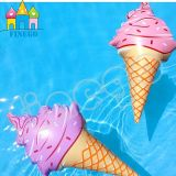 Galleggiante di galleggiamento del raggruppamento della pizza del giocattolo dell'acqua di Finego del Popsicle gonfiabile del gelato