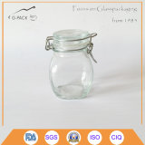 4oz Glass Salt Jar mit Flip herauf Cap