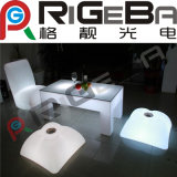 Mobiliário LED colorido Bar Chair Table Stage Light