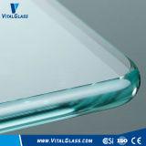 Gleitbetriebs-reflektierendes gekopiertes lamelliertes ausgeglichenes/abgehärtetes Spiegel-Baumaterial-Glas mit Cer ISO