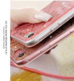 Крышка случая Bling Bling порошка 7 iPhone 7 аргументы за порошка яркия блеска PC TPU стильная мерцающая