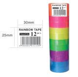 Ruban de papeterie couleur Rainbow pour étudiant