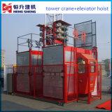 Elektrische Materiële Lift die door Hstowercrane wordt aangeboden