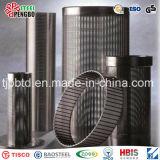 Tamis filtrant enveloppé par fil d'acier inoxydable