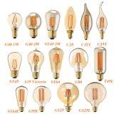 Lampe à filament de St64 C35 C32t C35t G40 A19 St45 St64 G80 G95 G125 Edison DEL