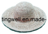 2014 manera Straw Hat con String Around