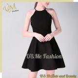 女性優雅な袖なしの女性の販売の偶然の夏の服