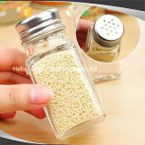 塩のコショウの乾燥のスパイス、シェーカーの塩のコショウのバーベキューの香辛料のびんのためのガラスビン
