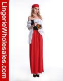 Красивейший Costume девушки пива -Плеча с шкафутом Cincher