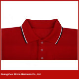 Custom Made Men's High Quality Cotton Red Polo T Shirts (P61)