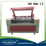Zwei Köpfe 100W CO2 Laser-Ausschnitt-Maschine (IGL-1610)