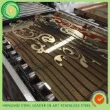 De Decoratie van de Groothandelsprijs etst het Blad van Roestvrij staal 201 316 304 voor de Vervaardiging van de Lift van de Roltrap