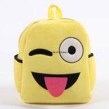 Schoolbag de Emoji do luxuoso para miúdos