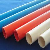 Tubo duro coloreado tubo plástico del PVC para la plomería