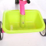 Tricycle d'enfants de bâti en acier d'usine de la Chine avec des roues d'EVA