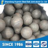 bola de acero de 125m m para el cemento y minas con la abrasión inferior