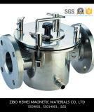 Séparateur magnétique permanent de canalisation liquide de la série Rcyj200/50 pour la colle, charbon, réfractaire, céramique, matériau de construction, glace, nourriture