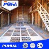 Grande quarto do sopro de areia das construções de aço com sistema de recicl abrasivo automático (Q26)