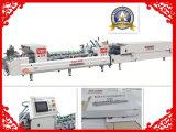 Einfache Faltblatt Gluer Maschine des Geschäfts-Xcs-800 für Kasten