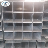 Tubo/tubo de acero rectangulares cuadrados galvanizados fabricante de Tianjin para el invernadero