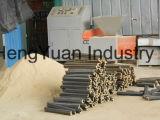 Ligne en bois de production à la machine de briquettes de sciure de biomasse de grande capacité