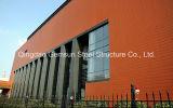 Полуфабрикат пакгауз стальной структуры сарая (SL-0049)