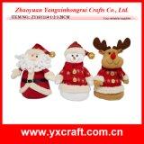 Decoratie van het Stuk speelgoed van Kerstmis van de Decoratie van Kerstmis (zy14y487-3-4) de Amerikaanse elanden Gevulde