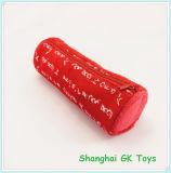 バレンタインのギフトの赤い鉛筆袋の静止したペン袋