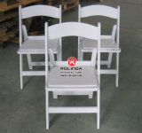 Nouveau Style Wedding Outdoor Wood Folding Chair pour Banquet Party