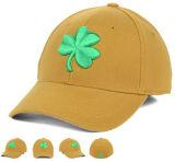 El golf anaranjado del algodón de la nueva de la manera alta calidad del diseño se divierte el casquillo con el forro del Velcro