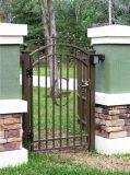 Cancelli decorativi semplici dell'entrata di alta qualità