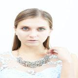 Neues Entwurfs-Harz-Acrylstein-Form-Halskette