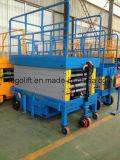 Plataforma hidráulica eléctrica 12m móvil Ascensor