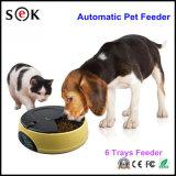 고양이 지류 또는 개 지류 사발을%s 새로운 6 식사 LCD 디지털 자동적인 애완 동물 지류