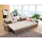 L base di sofà del tessuto di figura con memoria 810