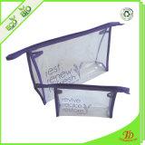 Sacchetto cosmetico di corsa di trucco della lavata delle donne libere del PVC