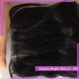 Chiusura bassa di seta brasiliana dei capelli della chiusura della parte anteriore del merletto