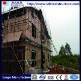 Plans en acier de structure métallique de Maison-Lumière de Maison-Lumière légère de bâti en acier
