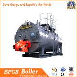 Zentralheizung und Öl-Gas-Dampfkessel der Rückreise-drei