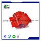 L'abitudine ha stampato il piccolo sacchetto di plastica della serratura della chiusura lampo del di alluminio