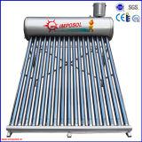 Calefaccion solar de acero inoxidable