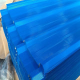 Color bleu Coated PPGI PPGL Corrugated Steel Sheet pour Roofing